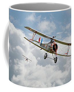 Coffee Mug featuring the photograph Escadrille Lafayette - Hunters by Pat Speirs