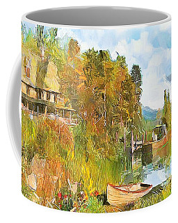 Escape By The Pond Coffee Mug