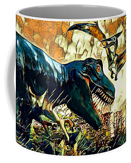 Escape From Jurassic Park Coffee Mug