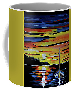 Escape To The Sea Coffee Mug