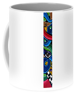 Escape To Venice - Abstract Art Painting, Modern Abstract Eye Art - Ai P. Nison Coffee Mug