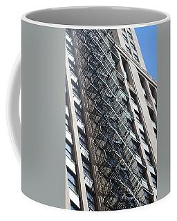 Escaping A Chicago Brownstone Coffee Mug