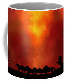 Escaping The Inferno Coffee Mug