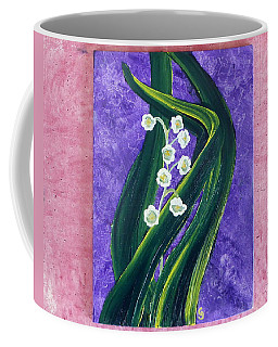 Escaping Winter Lilly Of The Valley Coffee Mug