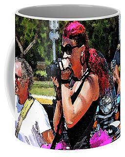 Escorted Bike Ride  Coffee Mug