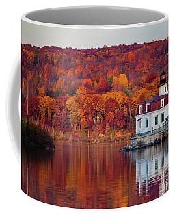 Esopus Lighthouse In Late Fall #1 Coffee Mug