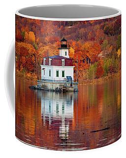 Esopus Lighthouse In Late Fall #2 Coffee Mug