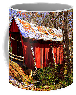 Est. 1909 Campbell's Covered Bridge Coffee Mug