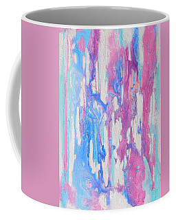 Coffee Mug featuring the mixed media Eternal Flow by Irene Hurdle