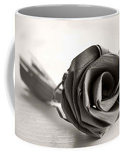 Eternal Rose In Sepia Coffee Mug