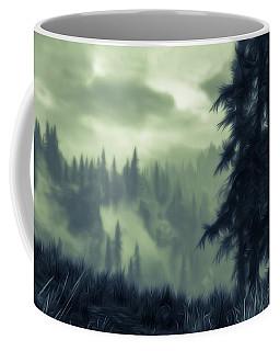 Eternal Shadow Falls  Coffee Mug by Andrea Mazzocchetti