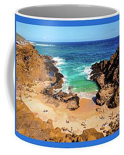 Coffee Mug featuring the photograph Eternity Beach - Oahu, Hawaii by D Davila