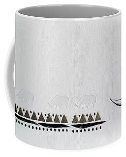 Ethnic Rhino Coffee Mug