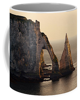 Etretat In Morning Sun Coffee Mug