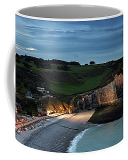 Etretat In The Evening Coffee Mug