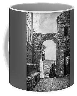 Etruscan Arch B/w Coffee Mug