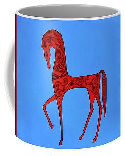 Etruscan Horse #2 Coffee Mug
