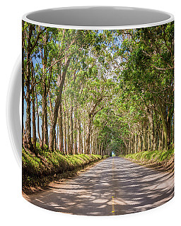 Eucalyptus Tree Tunnel - Kauai Hawaii Coffee Mug
