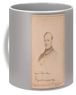 Eugene Joseph Verboeckhoven  By Hector De Saedeler Belgian, Active 1860s Coffee Mug