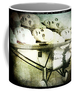 Coffee Mug featuring the digital art Eugenics 101 by Delight Worthyn
