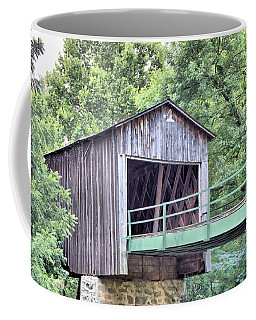 Euharlee Creek Covered Bridge Coffee Mug