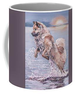 Eurasier In The Sea Coffee Mug