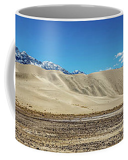Eureka Dunes - Death Valley Coffee Mug by Peter Tellone