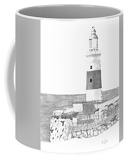 Europa Point Lighthouse Coffee Mug