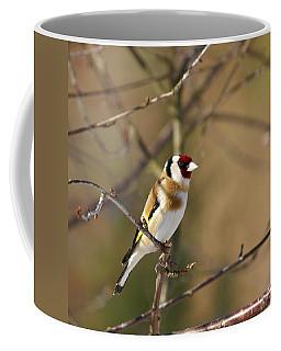 European Goldfinch 2 Coffee Mug