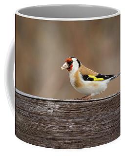 European Goldfinch In Kenosha Coffee Mug