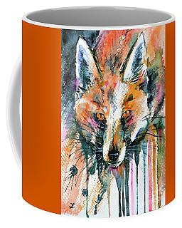 European Red Fox Coffee Mug