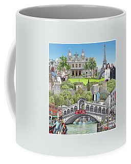 European Vacation Coffee Mug by Albert Puskaric