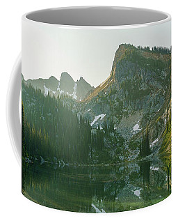 Eva Lake At Dawn Coffee Mug