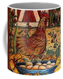 Even Chickens Can Be Heroes Coffee Mug