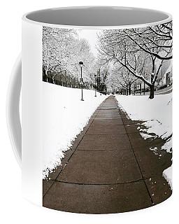 Winter Walks  Coffee Mug by Cyrionna The Cyerial Artist