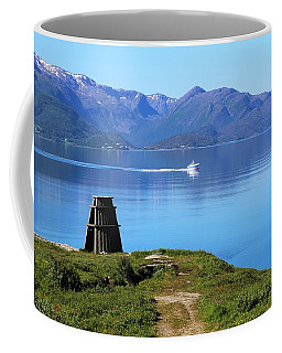 Evenes, Fjord In The North Of Norway Coffee Mug