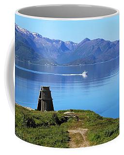 Evenes, Fjord In The North Of Norway Coffee Mug by Tamara Sushko