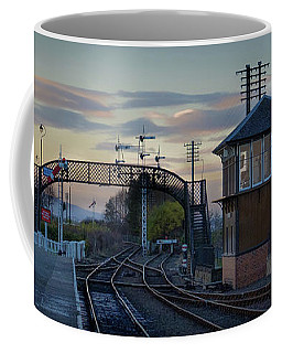 Evening At Bo'ness Station Coffee Mug