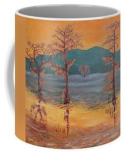 Evening At Caddo Lake Coffee Mug