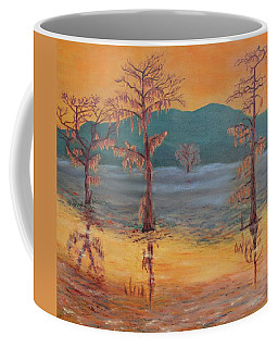 Evening On Caddo Lake Coffee Mug