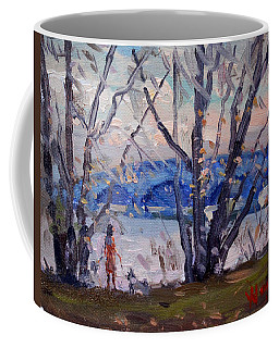 Evening At Great Island Bridge Coffee Mug