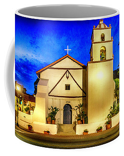 Evening At Mision San Buenaventura Coffee Mug