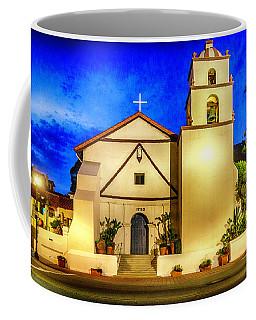 Evening At Mission San Buenaventura Coffee Mug
