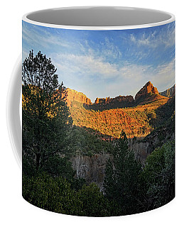 Evening At Oak Creek Canyon Coffee Mug