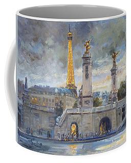 Evening At Pont Du Alexandre, Paris Coffee Mug