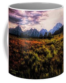 Evening At The Grand Tetons  ... Coffee Mug