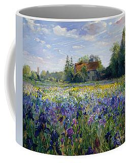Evening At The Iris Field Coffee Mug
