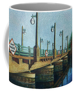 Evening, Bayville Bridge Coffee Mug