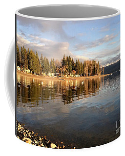 Evening By The Lake Coffee Mug by Victor K