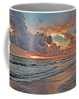 Coffee Mug featuring the photograph Evening Clouds by HH Photography of Florida